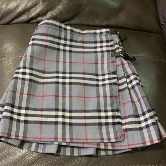 7231fc1a61 Burberry Bottoms   Nova Check Pleated Skirt Girls Size 5   Poshmark